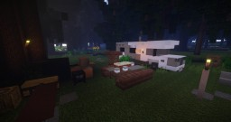 Camping Minecraft Map & Project