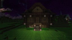 Small three story home Medieval theme. Minecraft Project