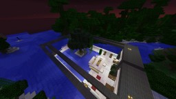 Small Outdoor Pool Minecraft Map & Project