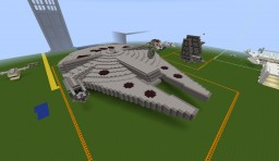 Star Wars - Millennium Falcon Minecraft Map & Project