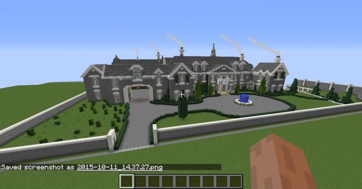 Alpine Mansion By Stampylongeverything© Minecraft Project