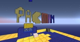 Minecraft Pacman, (made by my little brother) Minecraft