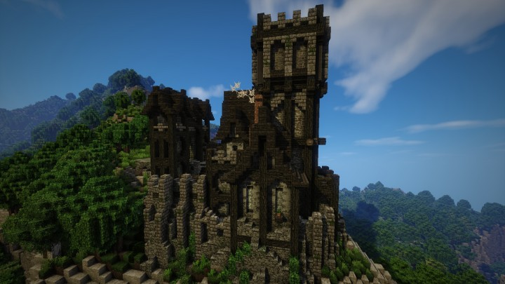 Small epic medieval castle download minecraft project for Small chateau