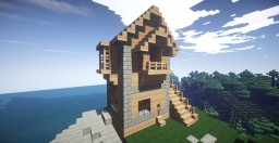 Nice Wooden House Minecraft Map & Project