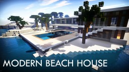 Modern Beach House + Download Minecraft Map & Project