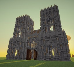 Medieval || City Church Minecraft Map & Project