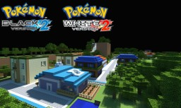 Pokemon Black and White 2 Unova Region in Minecraft