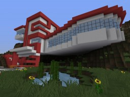 Bachelor Pad (Modern Mansion) Minecraft Project