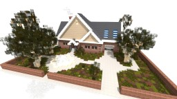 Realistic Suburban House Minecraft Map & Project