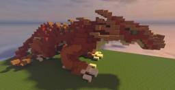 Red Drake (Dragon) [LIB] Minecraft Map & Project