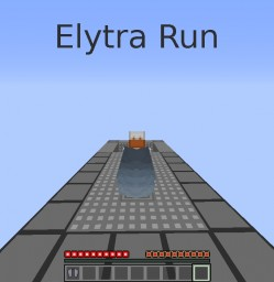 Elytra Run - Obstacle course for Minecraft's new addition: Elytra Wings Minecraft Map & Project