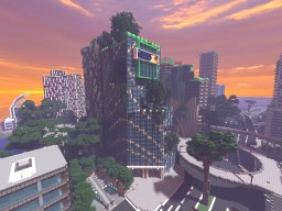 ING bank office building Minecraft