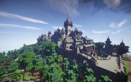 Minecraft Castle Cochem / Burg Cochem Minecraft Project
