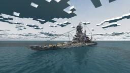 Fictional IJN Battleship - Kongō-Class inspired Minecraft Project