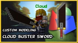 Custom model Cloud's Buster Sword (Final Fantasy) 1.8+