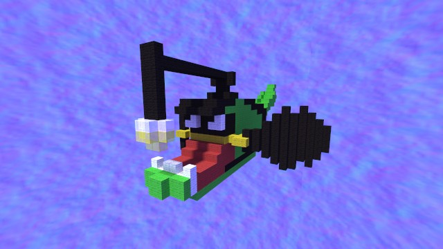Angler fish model minecraft project for Minecraft fish skin