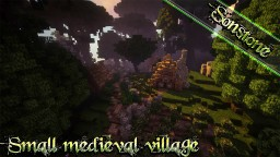 Sonstone - Medieval village Minecraft Map & Project