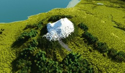 Etna volcano (with caldera) Minecraft Map & Project
