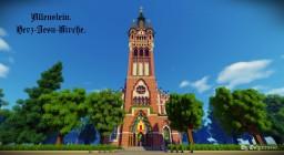 Herz-Jesu-Kirche Allenstein. Minecraft Project