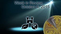Week in Review - Week of October 4, 2015 Minecraft