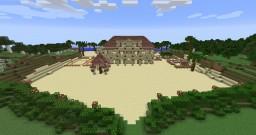 Italian Style Beach Villa Minecraft Map & Project