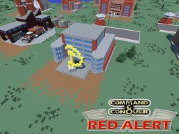 C&C Red Alert Tech Center Soviet Minecraft Map & Project