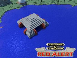 C&C Red Alert Submarine Pen Soviets Minecraft Map & Project