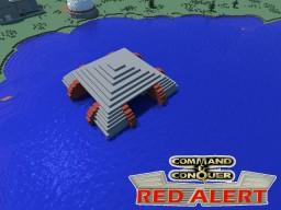 C&C Red Alert Submarine Pen Soviets Minecraft Project