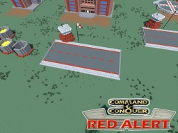 C&C Red Alert Airfield Soviets Minecraft Project