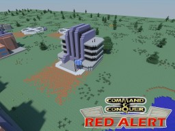 C&C Red Alert Tech Center Allies Minecraft Map & Project