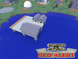 C&C Red Alert Naval Yard Allies Minecraft Map & Project