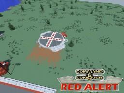C&C Red Alert Helipad Minecraft Project