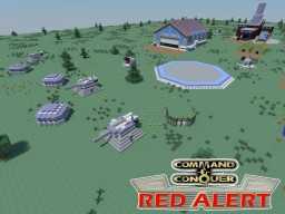 C&C Red Alert Defense Stuff Allies Minecraft Project