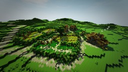 Gildera - Small Farming Village Minecraft Map & Project