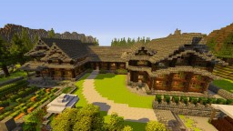 House of my grandparents Minecraft Project
