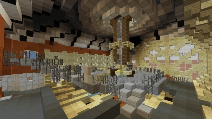 11th Doctors first Console room. Help from The_Doctor aka Fett202 ,Enderlordoffire, and MilkPls