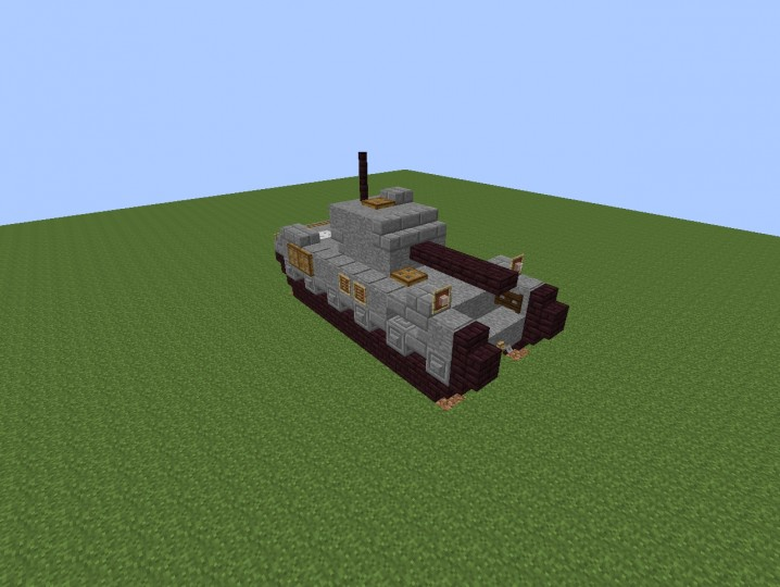how to build minecraft tank