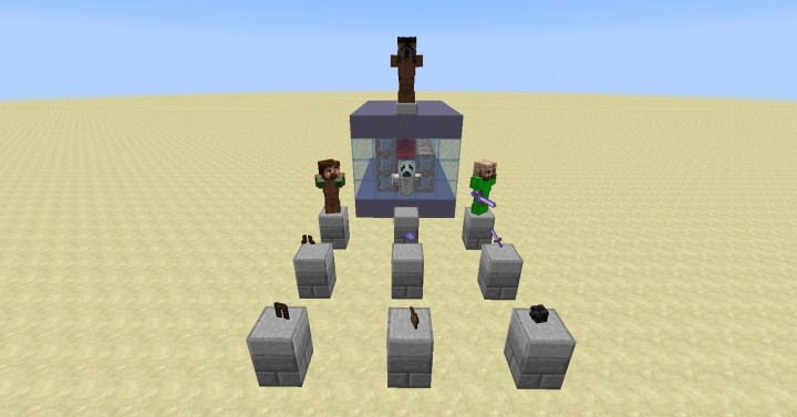 All mobs and items