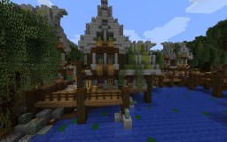 Rayna Village Project Minecraft Map & Project