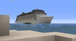 Diamond Of The Seas [CRUISE SHIP] Minecraft Map & Project