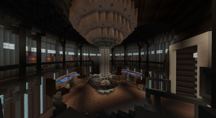 Huge Tardis Interior 2013 Minecraft Project