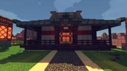 Small Kendo Dojo Minecraft Map & Project