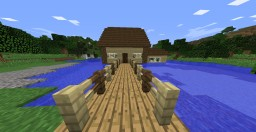 the lake house Minecraft Project