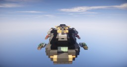 Faster Than Light - Cruiser Inspired Ship! Minecraft Map & Project