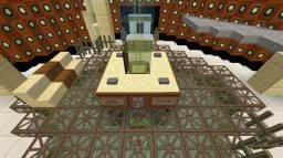 my tardis made this some time ago now did i menchon it also has about 50 rooms Minecraft Map & Project