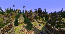 Factions Spawn + WarZone - Vigon Minecraft Map & Project
