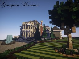 Georgian Mansion | By TCL135 Minecraft Map & Project