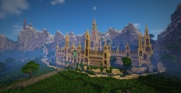 Epic Minecraft map (Medevil Castle + Industrial Fabric) Minecraft Project