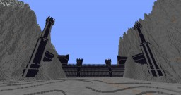 LOTR: The Black Gate of Mordor (Obsidian) Minecraft Map & Project