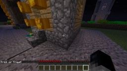 Trick or Treat! Minecraft Map & Project